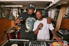 Jazzy Jay and Pete Rock : This shoot was during a - http://www.bkhiphopfestival.com/ rehearsal.