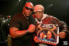 "KoleXXXion Album Release Party: DJ Premier & Bumpy Knuckles w/ special guests M.O.P., Heather B, Big Shug, & O.C., hosted by Flavor Flav & DJ Kid Capri : Artists, Friends + sponsors: use as you like and please credit ""photo: Robert Adam Mayer"".