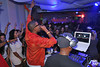 "The Opening Night Party: 9/28/12 Young Guru, Talib Kweli & DJ Square Biz: Free Candy  - Fusicology -Move Forward Music : Artists, Friends + sponsors: use as you like and please credit ""photo: Robert Adam Mayer"".